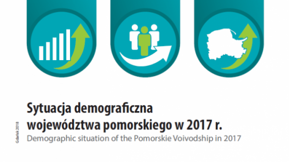Demographic situation of Pomorskie Voivodship in 2017