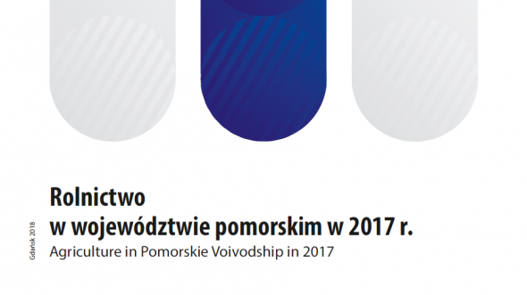 Agriculture in Pomorskie Voivodship in 2017